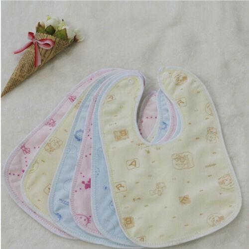 Enfants nouveau-nés bébé bavoirs imperméable salive Cartoons serviette 9H