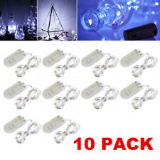 Lighting EVER 4300009-WW-16 3.3 Feet 20-LED Warm White Light String - 16 Pieces