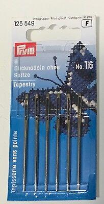 Aghi lana//punto croce senza punta n°26 Prym blister 6 pezzi
