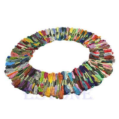 200 COTTON Stranded Thread Skeins, *Cross Stitch Cotton Thread Floss