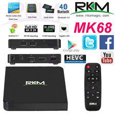 Rikomagic MK68 4K Octa Core RK3368 64bit Android 5.1 TV Box 2G 16G H.265 Mini PC