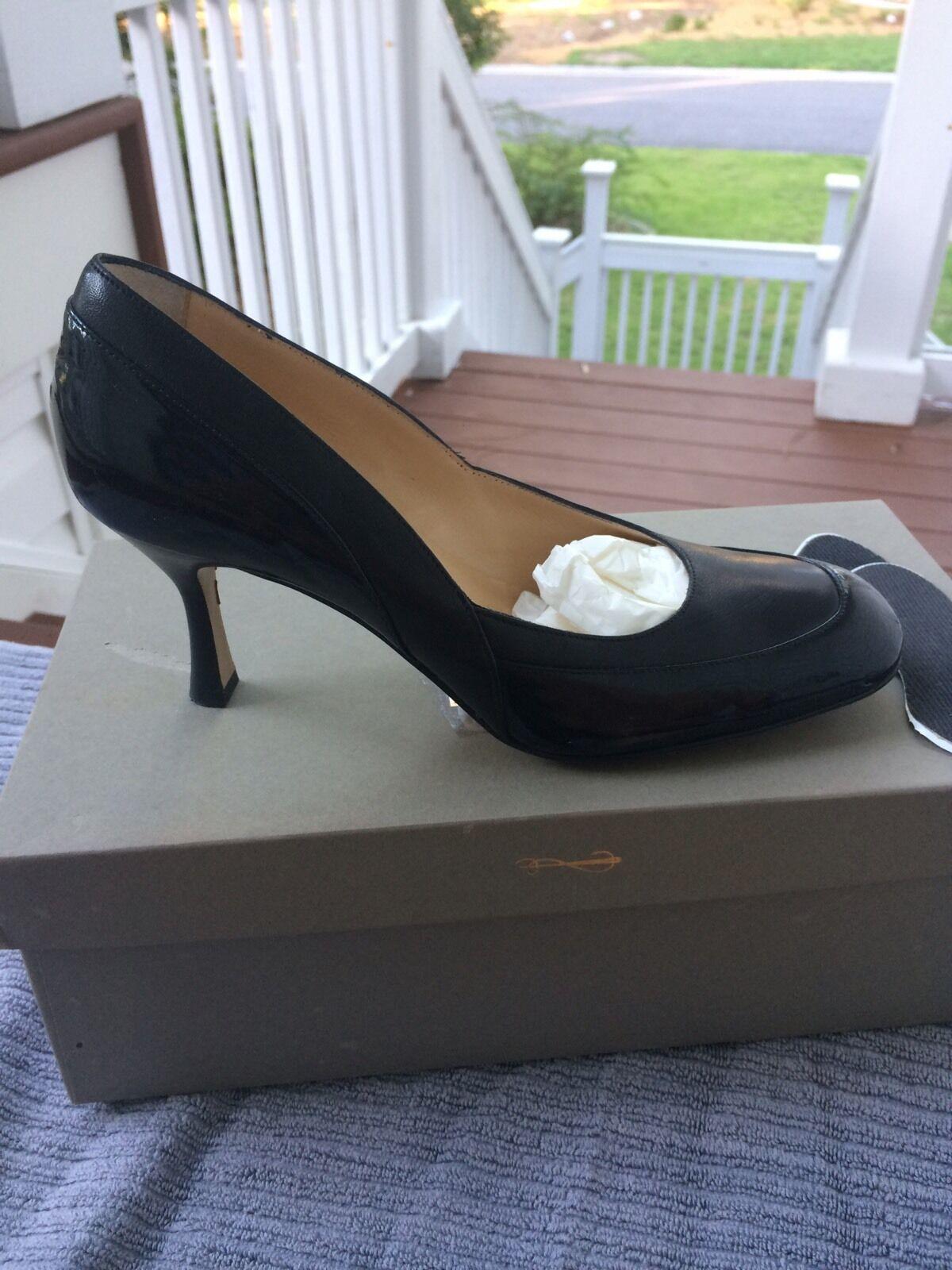 ☀ Cole Haan Charol Negro Zapatos Phoebe bomba  para para para mujer Talla 7 B a09987