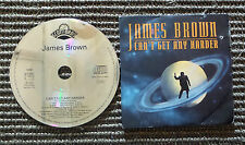 """CD AUDIOINT / JAMES BROWN """"CAN'T GET ANY HARDER"""" CD SINGLE  1992 SCOTTI BROS"""