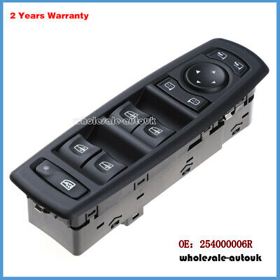 Mercedes Viano 2004-2013 Window and Wing Mirror Control Switch without Folding