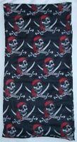 Rap A Cap Pirate Jolly Skull Head Bone Headwear (•¿•) Winter Wear Wholesale -new