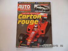 AUTO HEBDO N°1143 1 JUILLET 1998 GP FRANCE ALFA ROMEO 166  F38