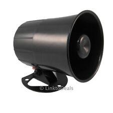 Six 6 Tone Loud Alarm Siren Security Horn for Auto Car Truck Van ATU ATV 12 Volt