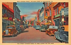 WINCHESTER-VA-LONDON-ST-MAIN-STREET-CHANGED-HANDS-72-TIMES-IN-CIVIL-WAR-POSTCARD