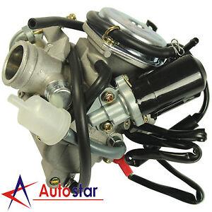 Details about Carburetor Carb For Honda GY6 150CC ATV 125 PD24J Scooter Go  Kart Wildfire 24mm