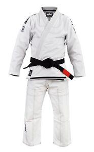 Fuji Submit Everyone Mens Brazilian Jiu-Jitsu BJJ Gi White w// Black
