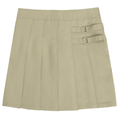 Girls Khaki Skort Two Tab Scooter French Toast School Uniform Sizes 4 to 20P