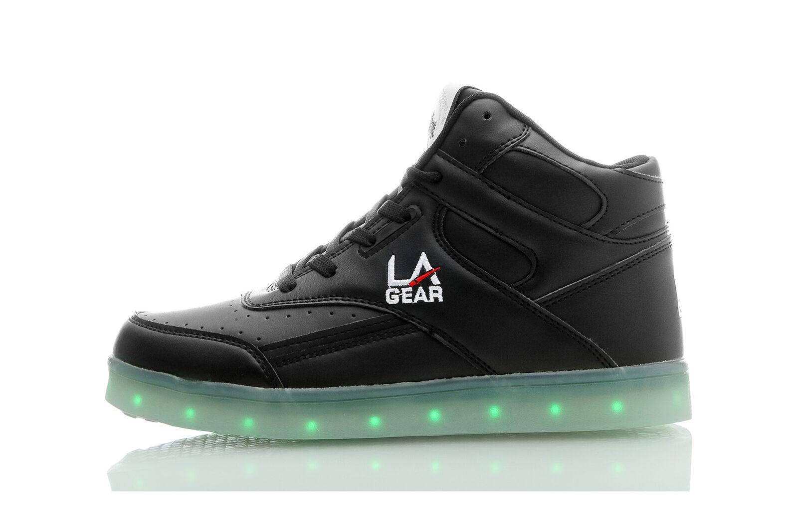 LA Gear FLO LIGHTS Damen Turnschuhe Schuhe LED-Beleuchtung mit 11 Programmen