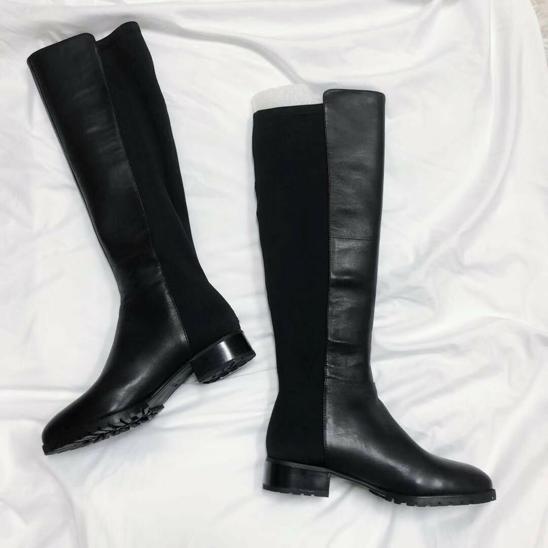 Nine West Legretto Knee-High Boots Blcak US 5 NWT