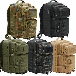 Brandit US Cooper Rucksack Molle Backpack Bundeswehr Armee Wandern Reise Tactica