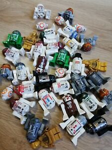LEGO-Star-Wars-Minifigure-Droids-amp-Robot-Packs-x5-figs-per-pack-Great-Mix