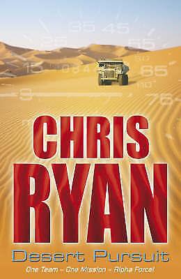 Desert Pursuit (Alpha Force, Book 4), Ryan, Chris, Very Good Book