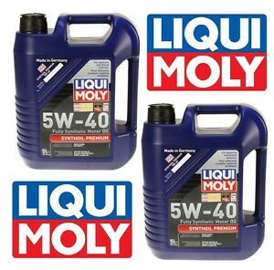 NEW-10-Liters-Synthoil-Full-Synthetic-Motor-Oil-5W-40-Premium-Liqui-Moly-Germany