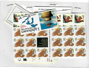 US $62.50 FACE MINT/NH POSTAGE LOT OF 29¢ - 37¢ BOOKLETS & BOOKLET PANES