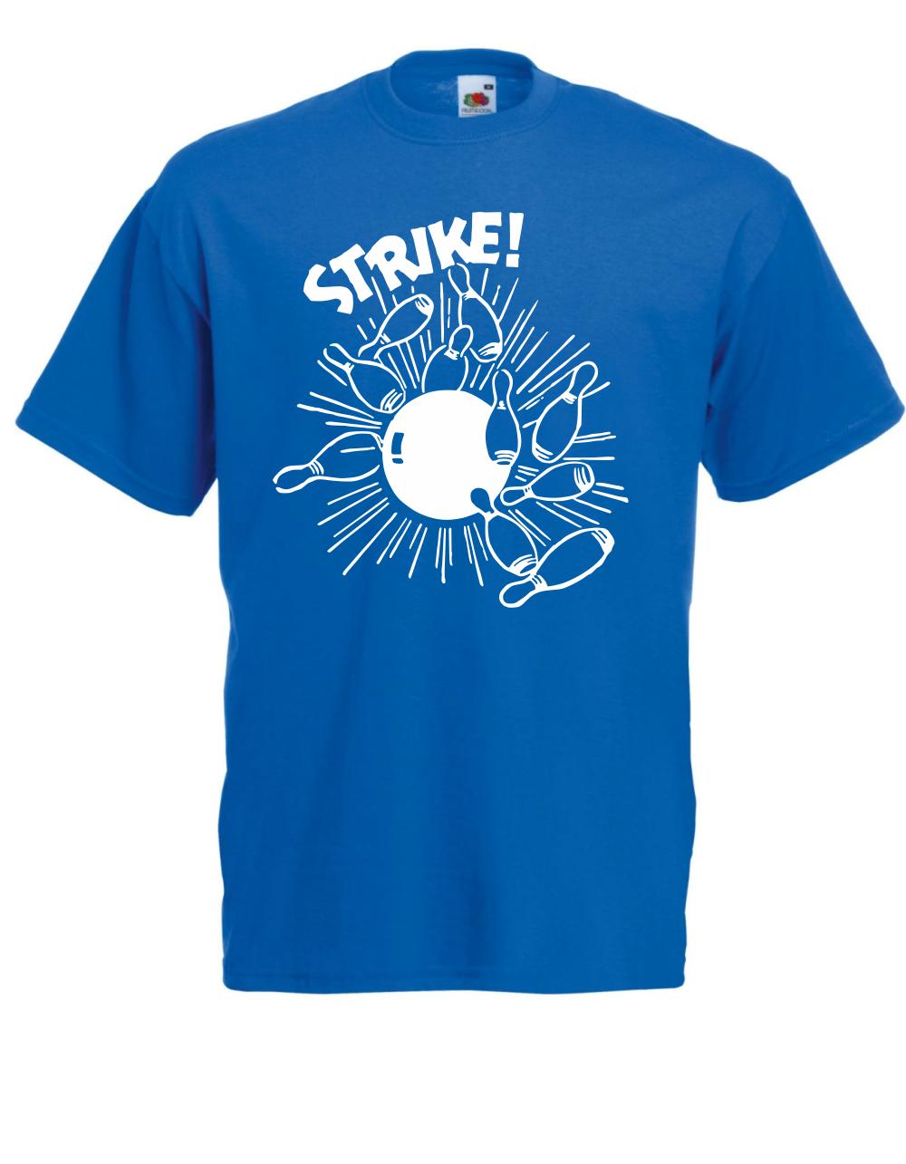 db4111ef207d9 ... T-Shirt pour Hommes Bowling - - Bowling Strike I Prétentions I Fun I  Drôle ...