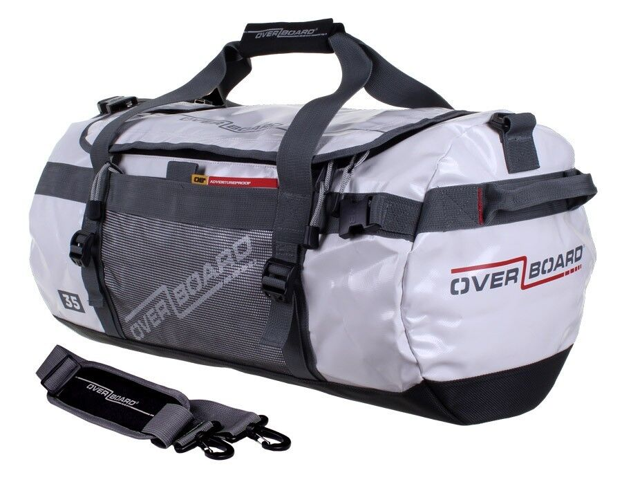 OVERBOARD 35L Waterproof Adventure Duftel Tasche Weiß