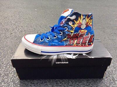 Mens 3 = Womens 5 Converse SUPERMAN All Star Chuck Taylor DC Comics Shoes ctas | eBay