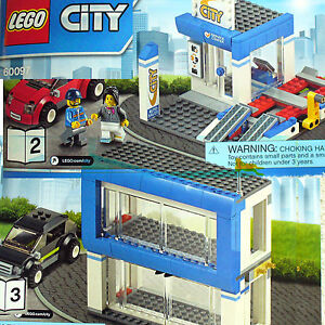 Lego Car Service Center Auto Dealership Repair City