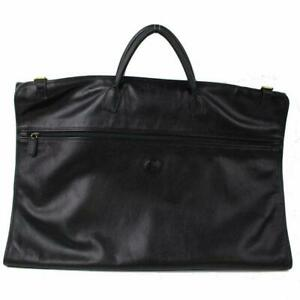 Gucci-Black-Leather-Garment-Cover-Travel-Bag-870824