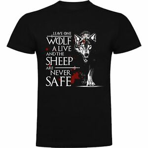 T-SHIRT-GAME-OF-TRONES-ARYA-WOLF-GAME-OF-THRONES-STARK-T-shirt-SIL-Sj063