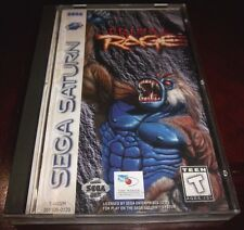 Primal Rage   (Sega Saturn, 1995)  Complete Game in Case with Instruction Manual