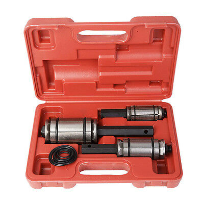 """New 3 PC MUFFLER TAIL AND EXHAUST PIPE EXPANDER 1 1/8"""" to 3 1/2"""" TOOL SET w/Case"""