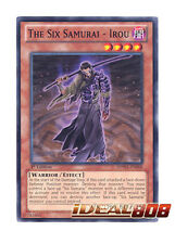 YUGIOH x 3 The Six Samurai - Irou - SDWA-EN008 - Common - 1st Edition Mint