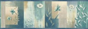 Wallpaper-Border-Bonnard-Moden-Watercolor-Blue-Color-Block-Floral