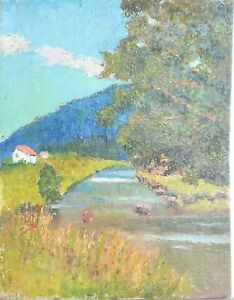 tableau-huile-panneau-paysage-vers-1920-signee-F-Ehrlich