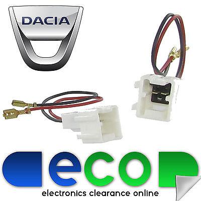 Dacia lodgy Sandero Duster de altavoces del coche adaptador de enchufe Plomo Conectores ct55-dc01