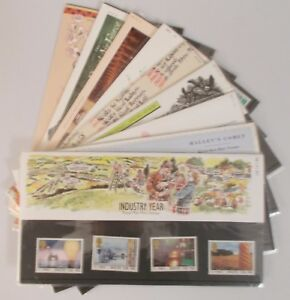 1986-Royal-Mail-Commemorative-Presentation-Packs-Sold-separately-amp-as-year-set