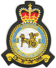 No.1 Squadron RAF Royal Air Force Official Crest Military Embroidered Patch (p)