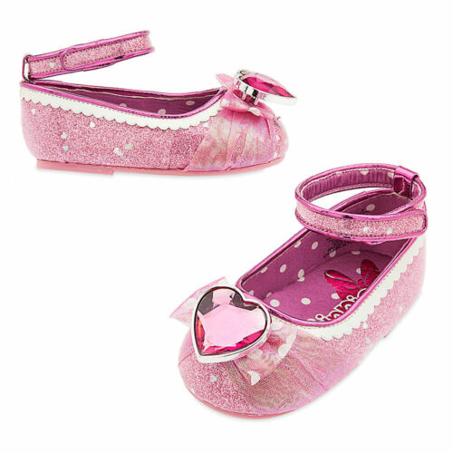 Disney Store Minnie Mouse Baby Costume Shoes w// Heart Jewel Size 0-6 6-12 Months