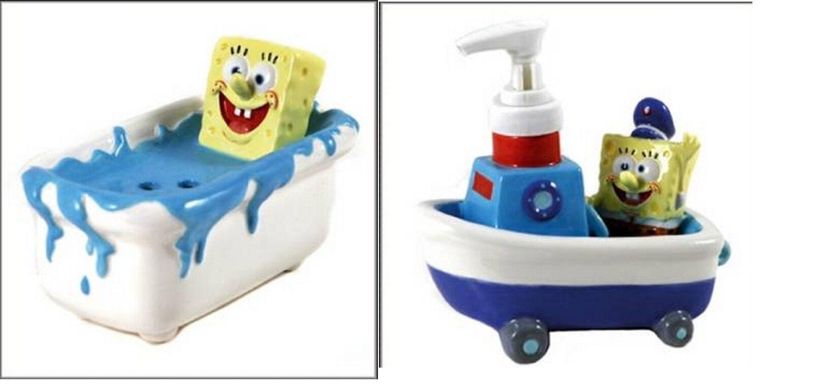 nueva gama alta exclusiva Sponge Bob Square Pants Caso Titular Baño Baño Baño Jabón Amarillo Tropical Figura Estatua  online al mejor precio