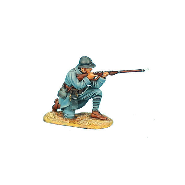 First Legion  GW016 French Infantry Kneeling Firing - 34th Infantry Regt