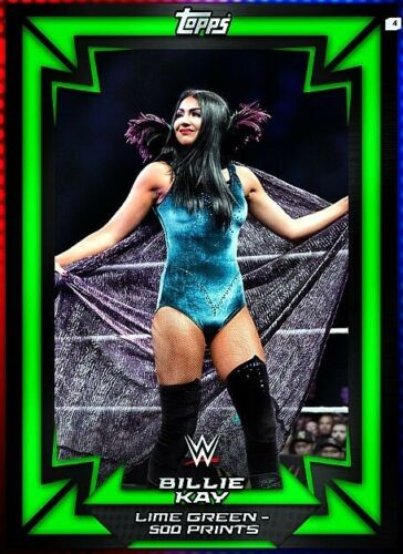 374 WWE Slam Digital 2018 Vert Citron Base-Billie Kay