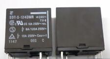 100 Te CONNECTIVITY//OEG RELÉ 24VDC SPST-NO SDT-S-124LMR 10A PCB