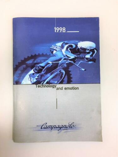 ~ Various Vintage Campagnolo Catalogs 1998-2002 Your Choice ~