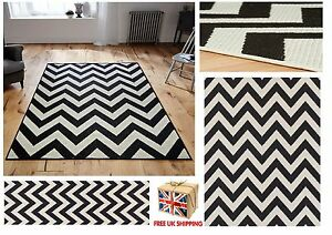 Image Is Loading All Sizes Chevron Malmo Utility Rugs Hall Runners