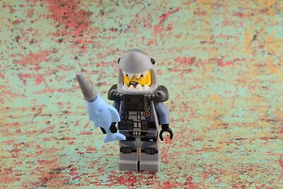 - Shark Army Great White Lego Ninjago película 70609 njo361 Nuevo Minifigura Lego