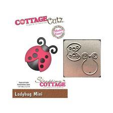 """MINI120 ~ NIP CottageCutz Mini Die 1.75/""""x1.75/"""" ~ Ladybug Made Easy"""