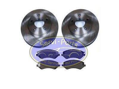 2x Bremsscheiben vorne 281mm + 1x Bremsbeläge, Chrysler Grand Voyager 2001-2007