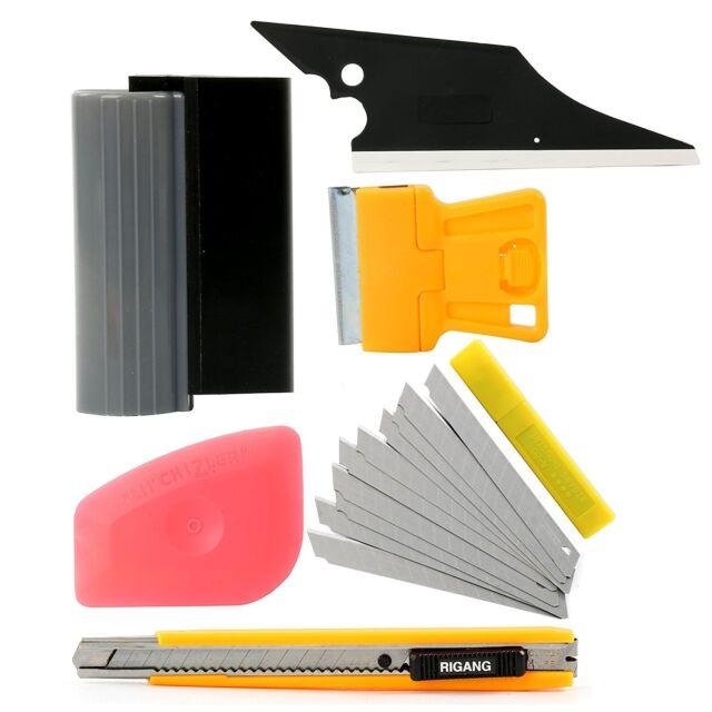 6 in 1 Automotive Window Film Wrap Tint Application Vehicle Car Tools Kit Set