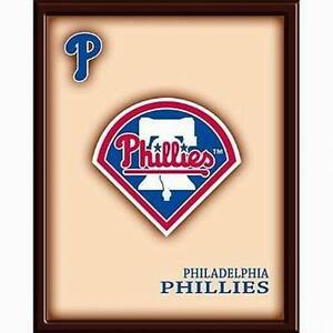 MLB-Wooden-Wall-Art-Picture-Philadelphia-Phillies-FREE-SHIPPING