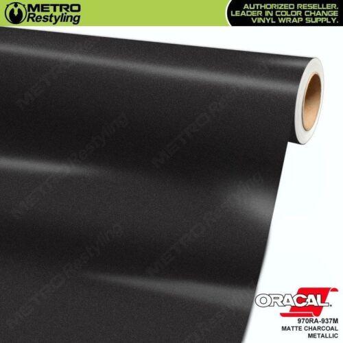 ORACAL 970RA-937M MATTE CHARCOAL METALLIC Vinyl Vehicle Car Wrap Decal Film Roll