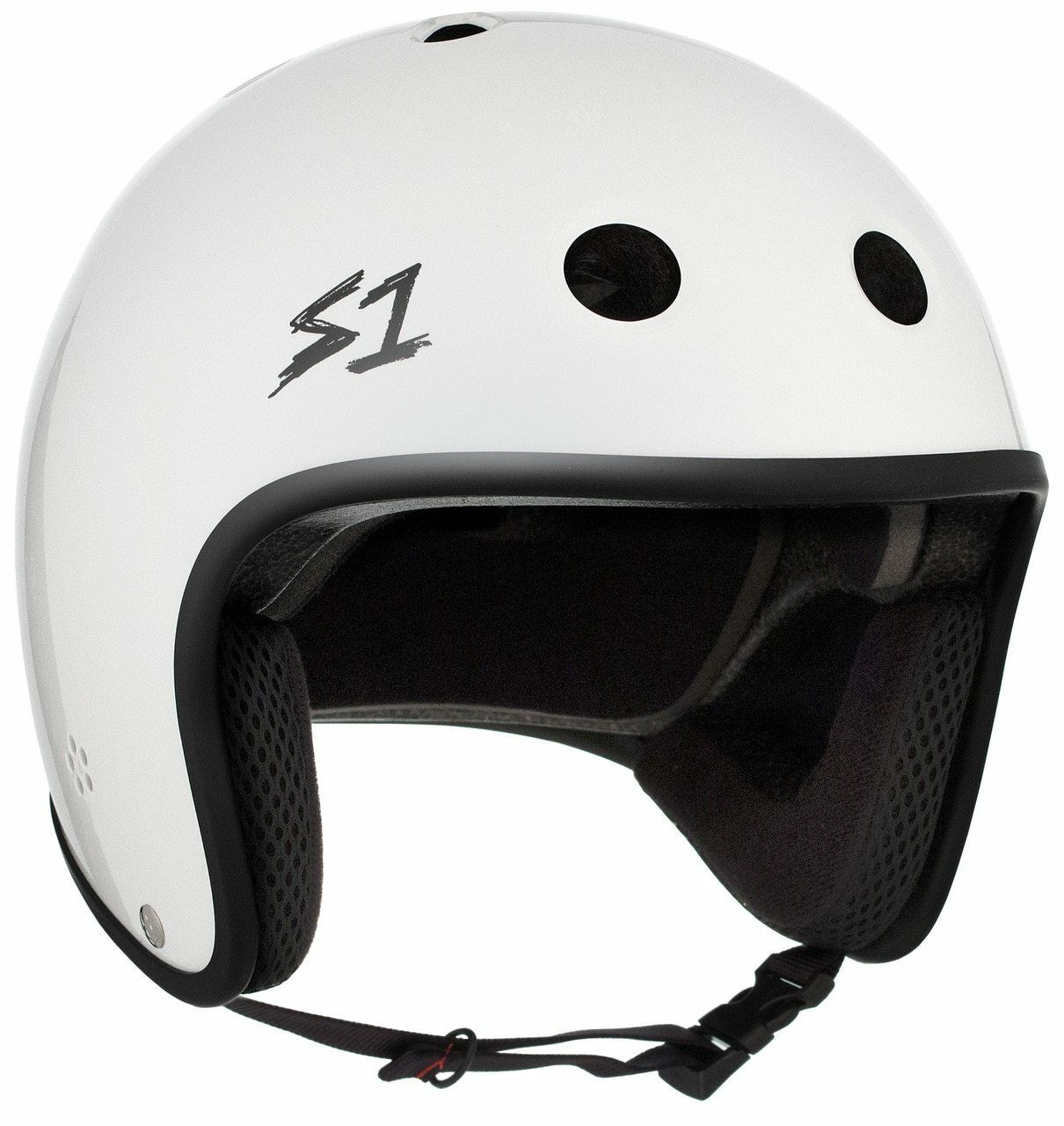 S1 Retro  Lifer Helmet - White Gloss  high-quality merchandise and convenient, honest service